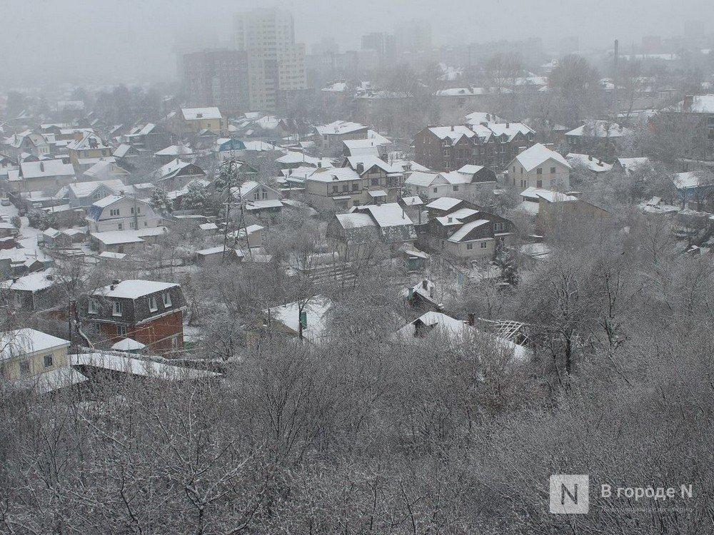 Сильные снегопады вновь обрушатся на Нижегородскую область - фото 1
