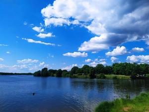 Подъездные пути к Лунскому озеру в Сормовском районе укрепят гранулятом