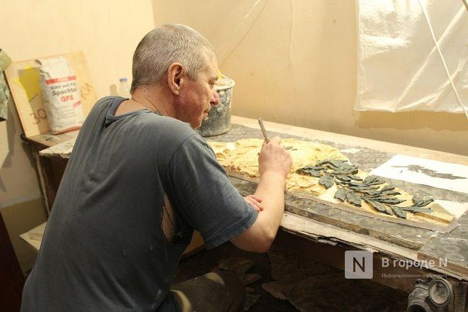 Реставрация исторической лепнины началась в нижегородском Дворце творчества - фото 23