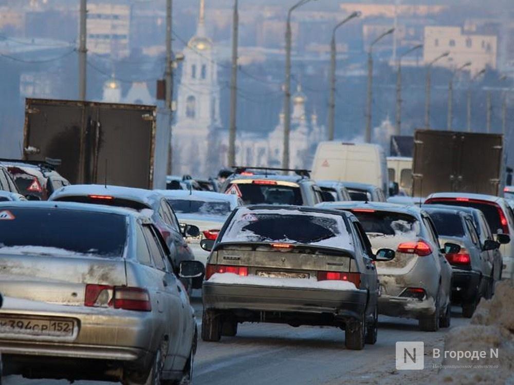 Заторы ожидаются на дорогах Нижнего Новгорода 30 декабря из-за снегопадов