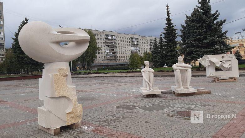 Скульптуры для украшения Нижне-Волжской набережной прозябают на площади Ленина - фото 6