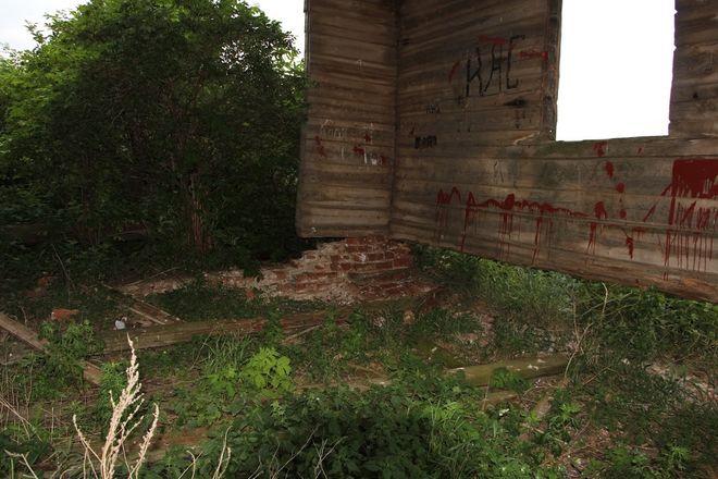 Как умирает нижегородское зодчество: история последней деревянной церкви в Лысковском районе - фото 3