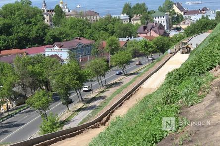 Склоны Нижегородского кремля защитили от оползней