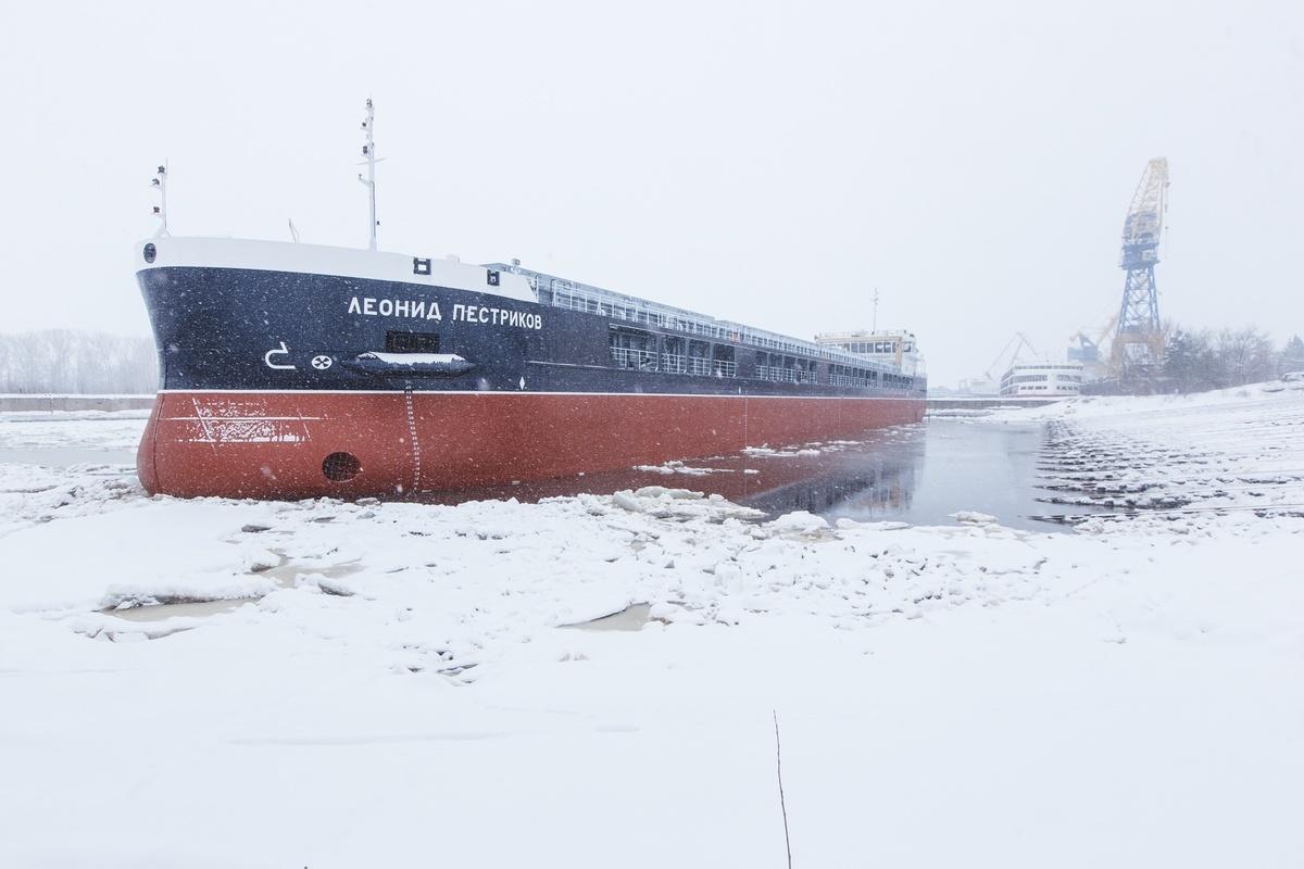 Построенное на «Красном Сормове» судно будет участвовать в параде Победы - фото 1