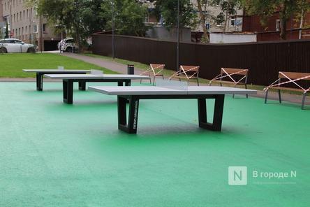 Теннисные столы появились в квартале 1833 года в Нижнем Новгороде