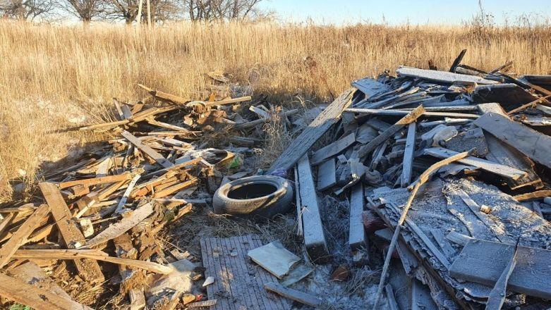 Нижегородцы пожаловались на горящую свалку около станции аэрации - фото 3