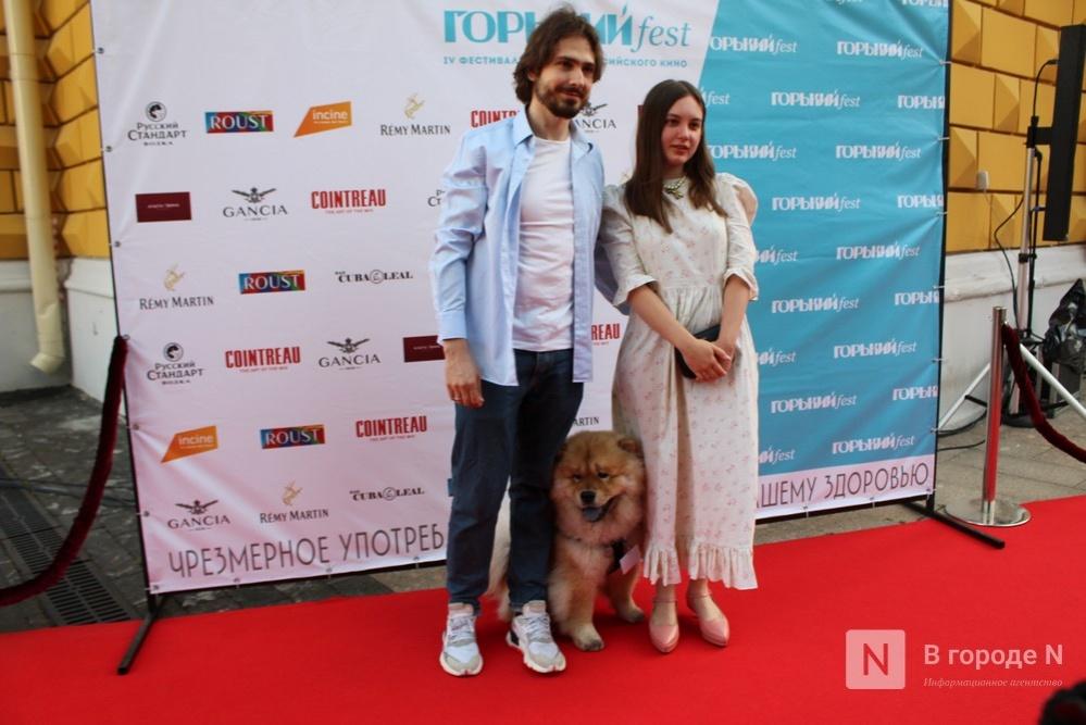 Маски на красной дорожке: звезды кино приехали на «Горький fest» в Нижний Новгород - фото 11