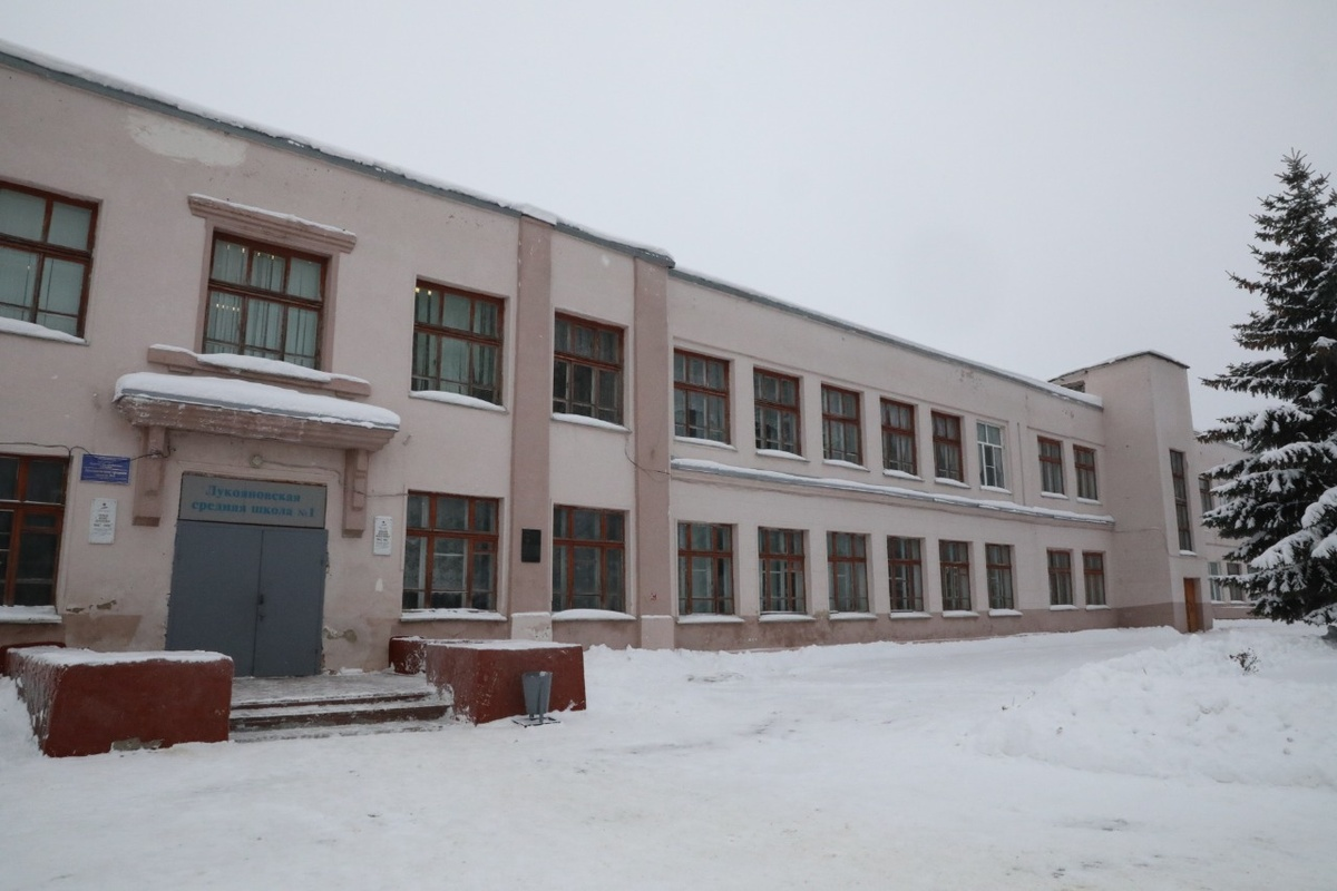 Новую школу планируется построить в Лукоянове на смену существующей - фото 1