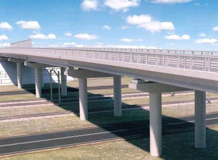 В Нижегородской области началось строительство дороги Неклюдово – Золотово