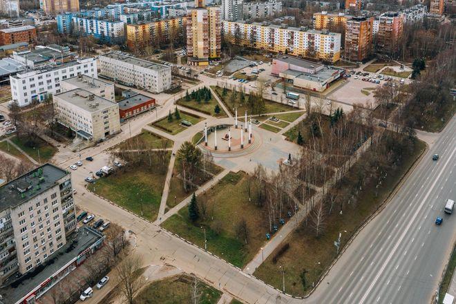 Холмы, перголы с качелями и детская зона появятся на площади Жукова в Приокском районе - фото 4