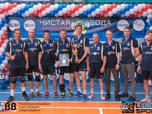 Команда Нижегородского водоканала заняла 1 место в серебряном play-off турнира РАВВ по волейболу
