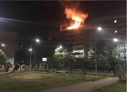 Соцсети: Две квартиры в Нижнем Новгороде загорелись из-за неосторожного курения - фото 1