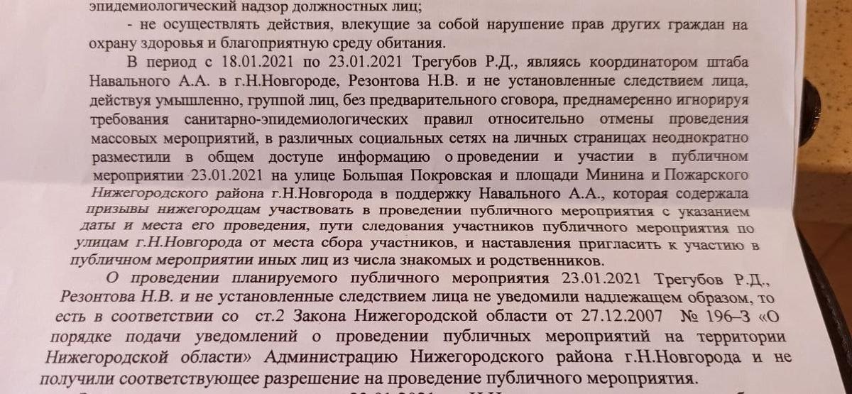 Уголовное дело завели на нижегородскую журналистку Наталью Резонтову - фото 2