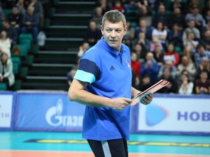 Тренировавший мужскую волейбольную сборную Украины Юрий Филиппов возглавил нижегородский АСК