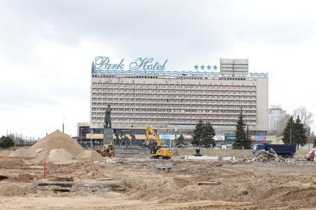 Выставочную площадь перед Нижегородской ярмаркой реконструируют к июлю