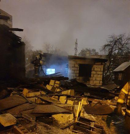 Жилой дом сгорел в Ленинском районе - фото 4