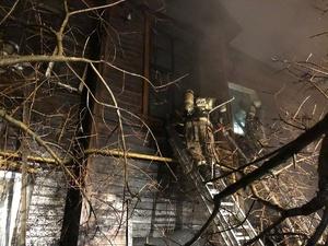 12 квартир пострадали в результате пожара в доме на улице Энтузиастов