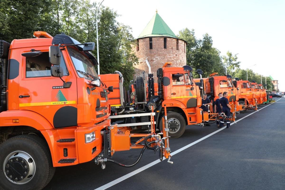 30 новых коммунальных машин приобрел Нижний Новгород - фото 1