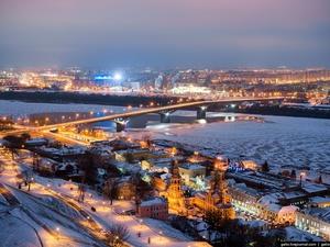 Прогулки по льду стали опасны в Нижнем Новгороде