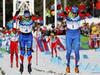 Россия выиграла золото и серебро в мужском спринте!