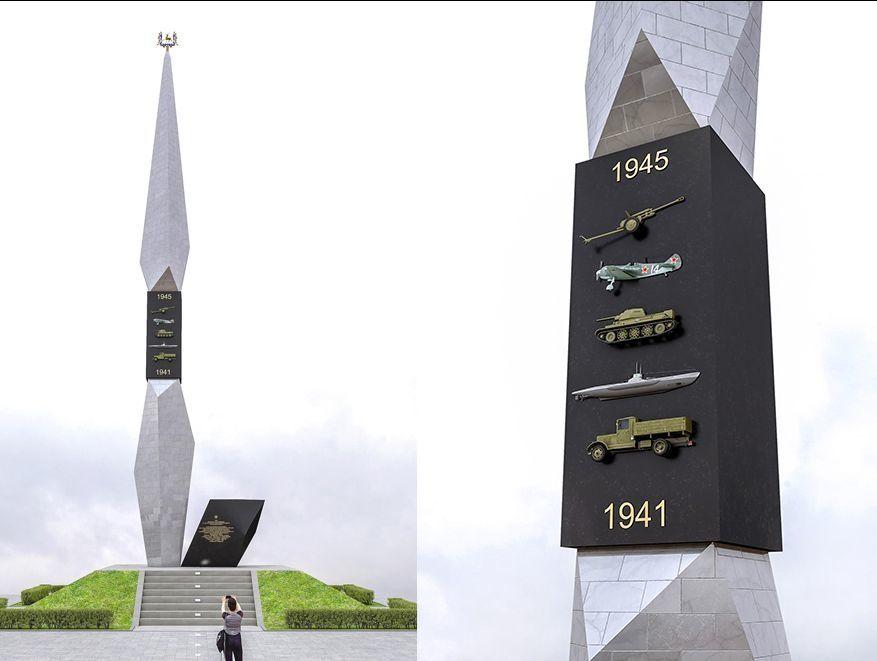 Стелу «Город трудовой доблести» Нижнего Новгорода отправили на доработку по габаритам