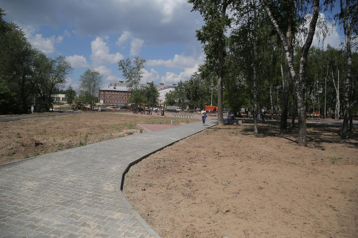 Два сквера в Ленинском районе благоустроят к июлю - фото 1