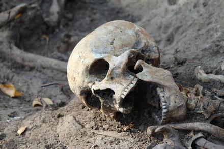 В Нижегородском кремле обнаружили кладбище