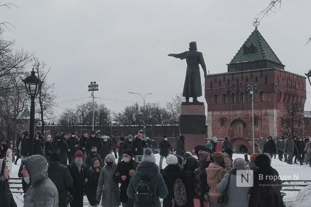 Точка (не)сбора: как прошел второй протестный митинг в Нижнем Новгороде - фото 7