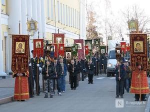 Крестный ход в честь Дня народного единства пройдет в Нижнем Новгороде