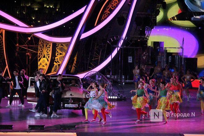 Огонь, вода и звезды эстрады: Как прошло гала-шоу 800-летия Нижнего Новгорода - фото 71