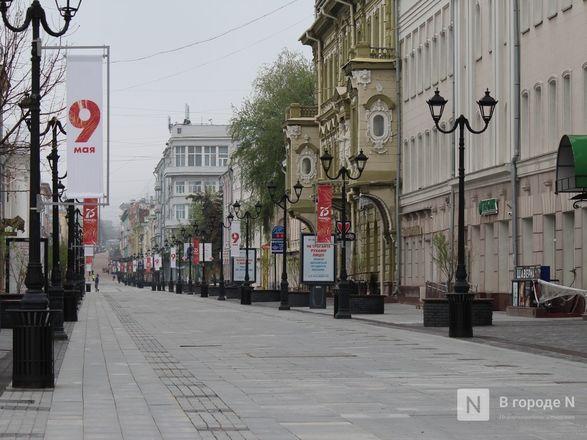 Пустые улицы и «Бессмертный полк» на балконах - фото 40