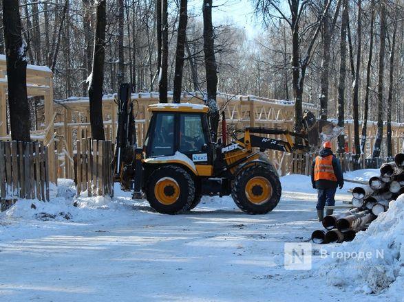 Более 240 рабочих благоустраивают нижегородскую «Швейцарию» - фото 30