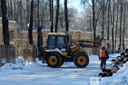 Более 240 рабочих благоустраивают нижегородскую «Швейцарию»