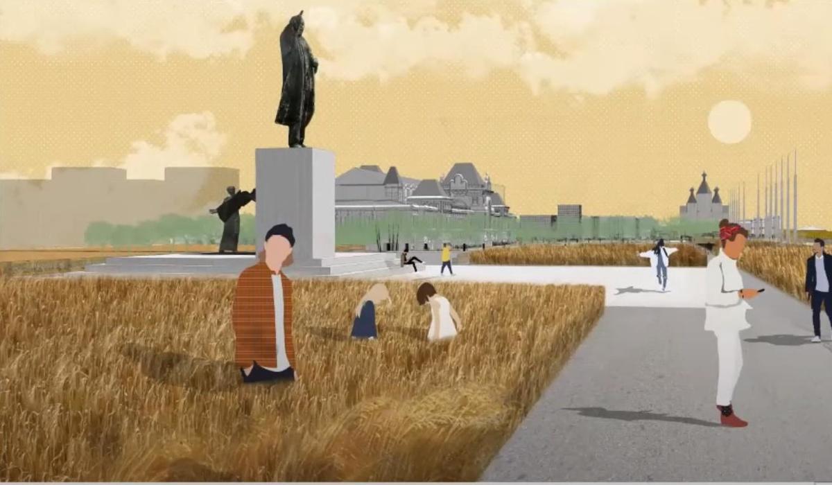 Ленин во ржи и навесы с подогревом: масштабная реконструкция ждет Нижегородскую ярмарку и прилегающие территории - фото 3