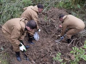 Останки погибших бойцов захоронили в Тверской области