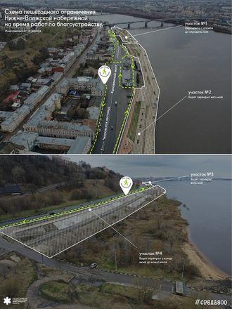 Разработаны схемы ограничений на время благоустройства территорий в Нижнем Новгороде - фото 1