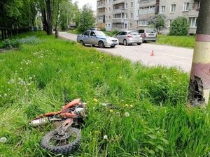 Кстовский школьник врезался в столб на пит-байке и погиб