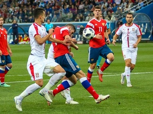 Молодежная сборная России проиграла Сербии в Нижнем Новгороде