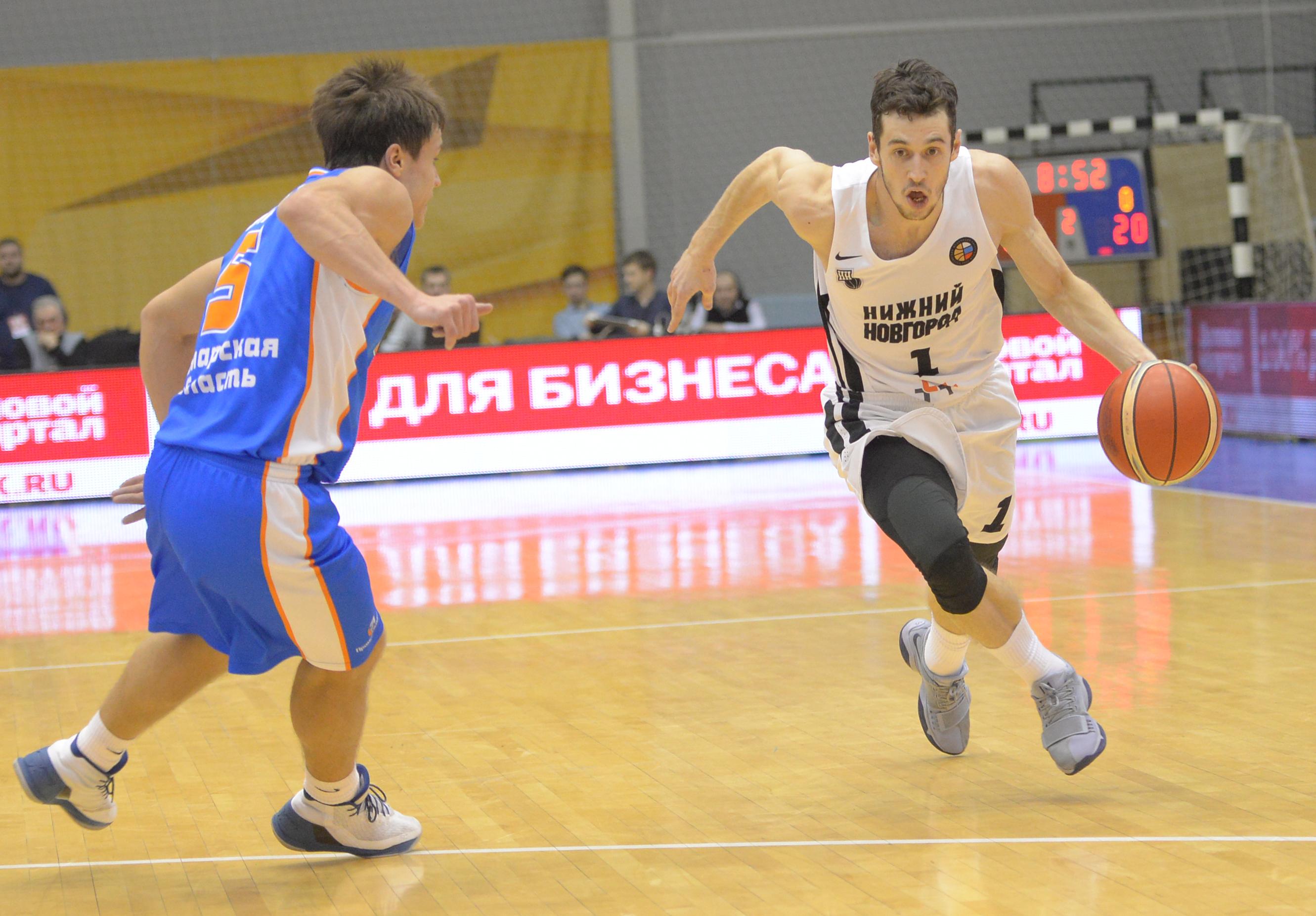Баскетболисты «Самары» выбыли изКубка Российской Федерации