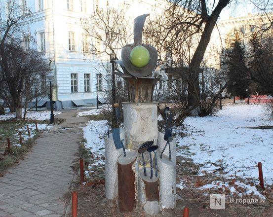 Галоши, ложка, объявление: памятники каким предметам установили в Нижнем Новгороде - фото 8