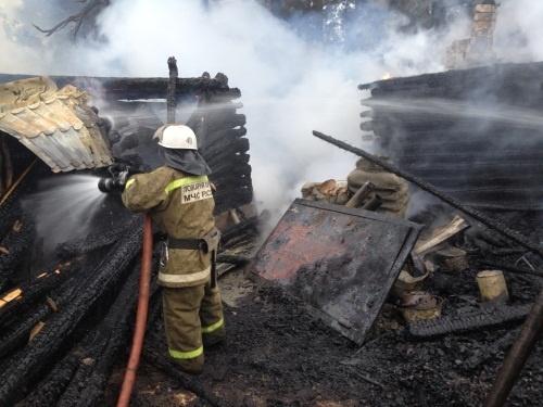 Житель Шатковского района сгорел в частном доме - фото 1