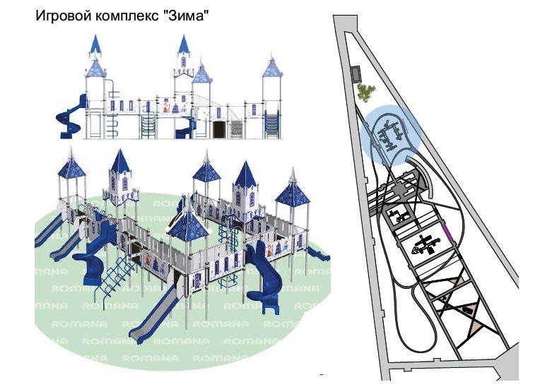 «Зима» вместо «Кремля»: проект площадки в парке Кулибина изменили по просьбам жителей - фото 4