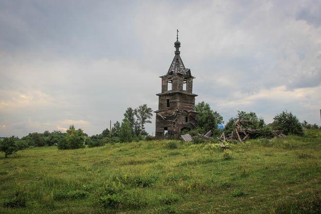 Как умирает нижегородское зодчество: история последней деревянной церкви в Лысковском районе - фото 7