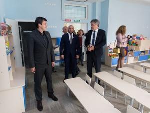 Новый детский сад на 320 мест открылся в микрорайоне Цветы