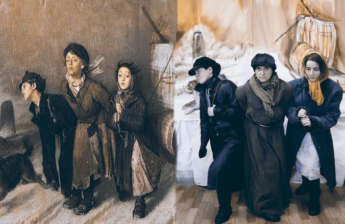 Заключенные нижегородки изобразили персонажей картин Васнецова и Врубеля - фото 7