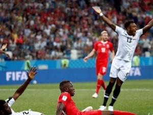 Коста-Рика доставила массу проблем Швейцарии на матче за плей-офф
