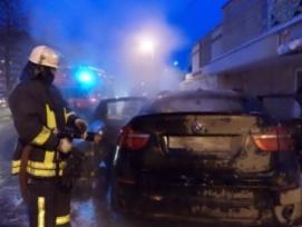 Три автомобиля горели в Нижегородской области минувшей ночью