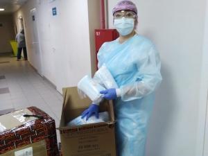 10 000 медицинских масок получила Борская ЦРБ от компании HEINEKEN