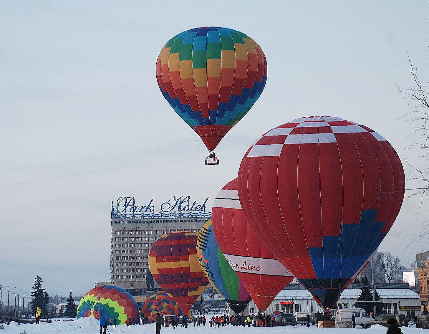 10 аэростатов пролетят над Нижним Новгородом 24февраля