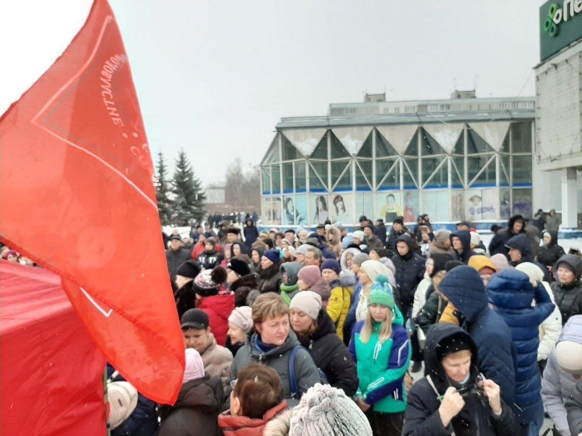 Более 300 человек вышли на митинг за сохранение хирургического отделения в автозаводской больнице №40